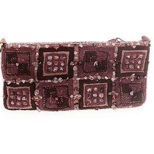 Chan Luu Embellished handbag embroidered, stones